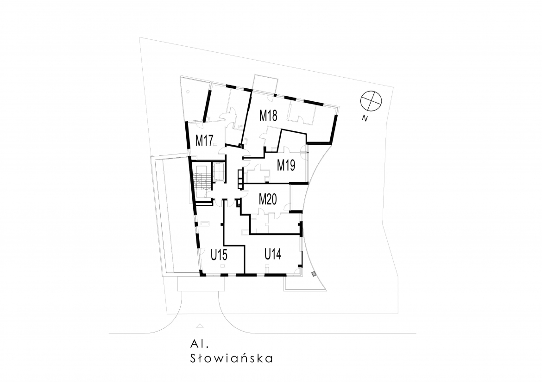 Słowiańska 25 - Piąte piętro