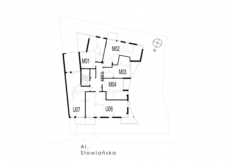 Al. Słowiańska25 - Pierwsze piętro