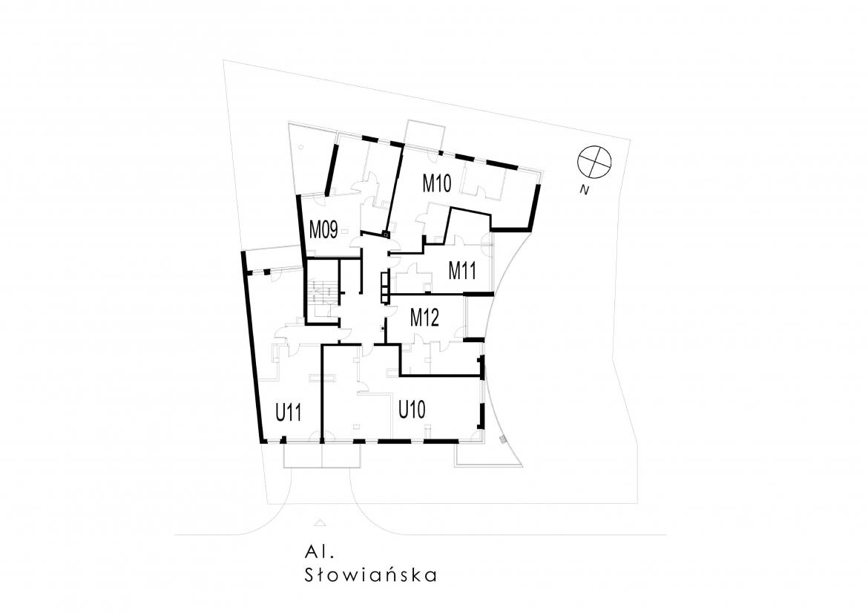 Słowiańska 25 - Trzecie piętro